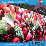 Alto brilho P6 publicidade exterior LED com IP65
