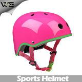 탄소 섬유 기관자전차 거리 자전거 방어적인 안전 분홍색 헬멧