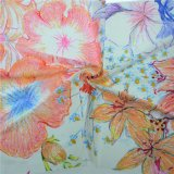 デジタル印刷100%の絹ファブリック織物(TLD-0091)