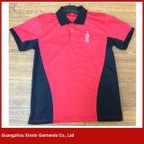 عالة طباعة [هيغقوليتي] أحمر سوداء رياضة لعبة البولو [ت] قميص لأنّ رجال ([ب100])