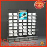Bestellte Schuh-Wand-Regal-Ausstellungsstände für System voraus