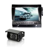 Digitas 9 de TFT LCD do carro da opinião traseira da cor polegadas de monitor da tela com as 4 câmeras de inversão para o barramento, caminhões