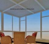 Preiswertes neues Entwurfs-modernes einzelnes Aluminiumglas-örtlich festgelegtes Fenster