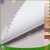 가정 직물 입히는 PVC 방수 방연제 정전 색깔에 의하여 길쌈되는 폴리에스테 커튼 직물