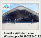 Barraca de /Hanger do abrigo da barraca/aviões da manutenção do avião para o armazenamento