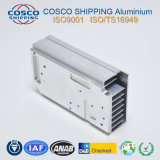 Solution thermique haute précision Radiateur en aluminium avec usinage CNC