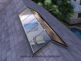 ガラス上の蝶番を付けられた屋根のWindows、天窓のWindows