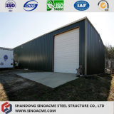 Magazzino di memoria chiaro prefabbricato vendita calda dell'acciaio per costruzioni edili del calibro