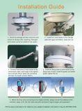 300W de kleine Verticale Turbine van de Wind van de As (shj-NEV300Q4)