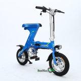 Bici plegable eléctrica con el rango de los 60km