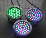 Yaye 18 Garantie 2 ans 6W LED lumière sous-marine / LED Pool Light / 6W LED éclairage sous-marin / lampe sous-marine