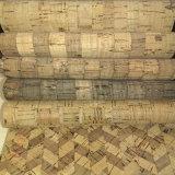 Real Cork PU couro sintético para sacos, calçados (SH-BC01)