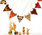 Stamina bilaterale dello stendardo della stringa di colore completo per la festa di compleanno