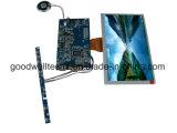 16 : 9 module d'affichage à cristaux liquides de bâti ouvert de 8 pouces