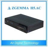 H. 265 TVのデコーダーATSC + DVB S/S2 Zgemma H5。 AC