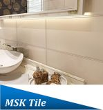 mattonelle rustiche Leather-Look beige della parete 300X600 e del pavimento