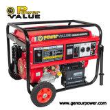 Fábrica precio del generador de la gasolina de 7 kilovatios con el arranque eléctrico