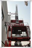 Jaili Sc100/100 Construcción pequeña jaula doble edificio elevador ascensor