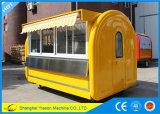 Carro al aire libre Tuk Tuk del café de la venta caliente de Ys-Bf300c para la venta
