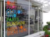 カスタムビニールの窓ガラスのレタリングおよび図形ステッカーのステッカー
