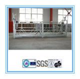 Plataforma de funcionamiento suspendida durable segura de la cuerda de alambre para la construcción