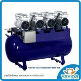 Compressore d'aria senza olio silenzioso dentale di Oilless per 8ew
