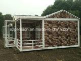 Chalet prefabricado de Confortable del bajo costo/prefabricado móvil de vida de la casa por días de fiesta