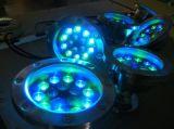 IP68를 가진 배를 위한 최신 판매 RGB 다채로운 수중 LED 빛