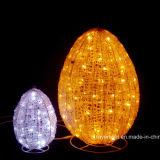 イースター照明装飾のエステルはLEDの休日のモチーフの装飾に卵を投げつける