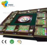 Máquina tragaperras video de la ruleta de la rueda del casino de Royale de 8 jugadores