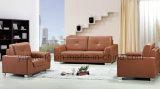 Sofà di cuoio moderno della nuova mobilia dell'ufficio progetti (SF-610)