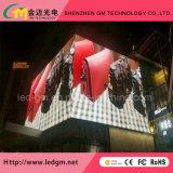 옥외 광고 정면 정비 P8mm 풀 컬러 디지털 발광 다이오드 표시 스크린