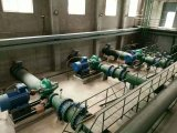 모터를 가진 축류 펌프를 드는 물
