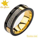 Streptokok-007 de nieuwe In het groot Gouden Juwelen van het Roestvrij staal van het Huwelijk