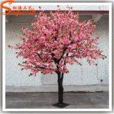 Cubierta de fibra de vidrio decorativo Mini Artificial árbol de la flor