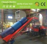 Blaue Zylinder-Zerkleinerungsmaschine