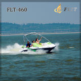 Barco de velocidade mini estilo Seadoo com motor fora de borda