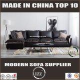 Sofá de sala de estar com estilo de tecido novo em pele