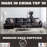 Neues Art-Gewebe-Leder-Kombinations-Wohnzimmer-Sofa