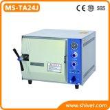 Sterilizzatore veterinario del vapore del piano d'appoggio (MS-TA24J)
