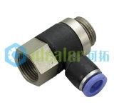 La qualité Un-Touchent l'ajustage de précision pneumatique avec ISO9001 : 2008 (PHF1/4-N04)