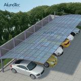 Résistance aux neiges Carrelage en polycarbonate Aluminium Carport