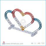 Венчание изогнутое алюминием ферменной конструкции Semi круга Decorationtruss