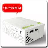 Micro USD 600 proiettore del mini del teatro domestico TV DVCD di lumen mini LED telefono portatile