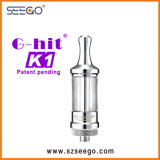 De g-Klap van Seego K1 de Maximum Elektronische Sigaret van de Damp met de Tank van het Glas