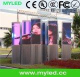 Schermo dell'interno esterno fisso della visualizzazione di LED dell'installazione SMD HD P4 P5 P6 P8 P10 LED/visualizzazione di LED locativa