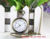 Nouvelle montre de poche style, chaîne en alliage avec boîtier en acier inoxydable Fs474