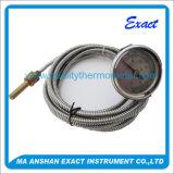 Termometro capillare bimetallico industriale del tubo a spirale della caldaia