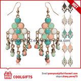Orecchini multicolori di stile della Boemia del metallo delle signore con le nappe Pendent