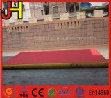 Pista di aria gonfiabile personalizzata di caduta per addestramento di sport